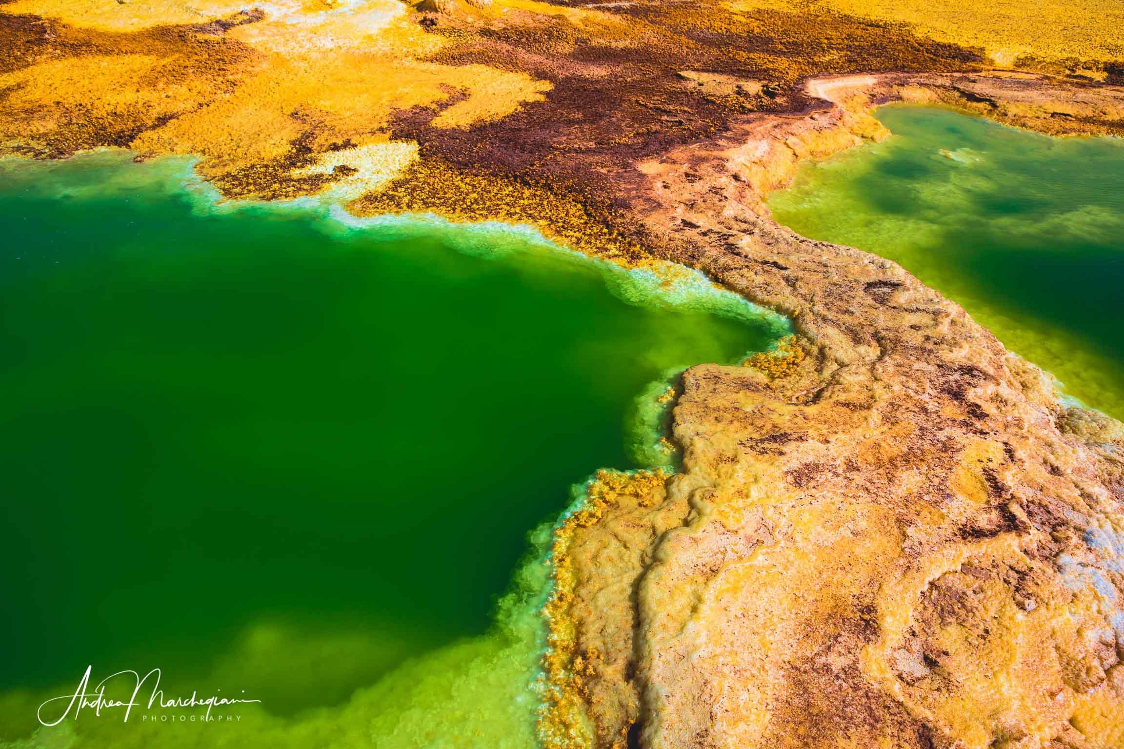 Particolare, Dallol Vulcano, Dancalia depressione, Etiopia